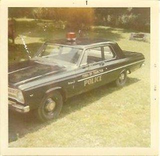 Old Police Cruiser